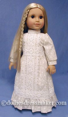 American Girl Doll ~ Julie I had a dress very similar to this when I was in high school, crazy. What a lovely dress
