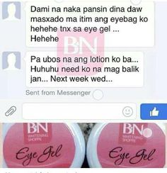 Eye Gel user shares her eyebags lighten after regularly using BN Eye Gel. thanks maam for the update! :) BN EYE GEL for only 180 pesos decreases eye puffiness and minimize fine lines effectively and Safely :) Eyebags, Anti Itch Cream, Home Spa Treatments, Clear Pores, Apricot Oil, At Home Face Mask, Make Beauty, Puffy Eyes, Eye Gel