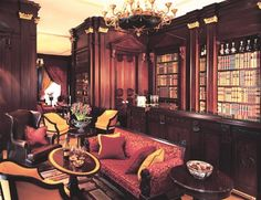 Library Bar at The Lanesborough Hotel