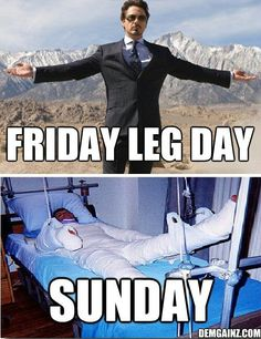 15 Most Funny Fitness Memes to Give You A LOL Break - Funny leg day memes. Gym workout memes to show you the real you. Find more funny gym picture to lau - After Leg Day Meme, Leg Day Memes, Leg Day Humor, Gym Humour, Workout Humor, Leg Day Quotes, Exercise Humor, Workout Quotes, Leg Day Funny