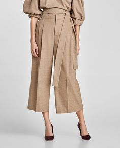 DARTED CULOTTES-Culottes-TROUSERS-WOMAN | ZARA United States