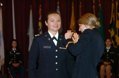 Highest ranked @Army ROTC cadet commissions into Maryland National Guard