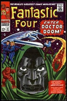 Fantastic Four 57 Jack the King Kirby silver age Marvel comics group