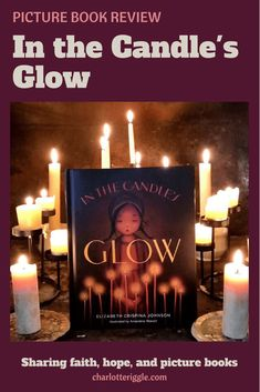 In the Candle's Glow explains how prayer candles are made and used, from the bees to the church. #candles #prayer #picturebook
