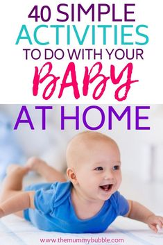 40 fun activities to do with your baby at home – The Mummy Bubble – Baby Development Tips Newborn Baby Tips, Newborn Schedule, Fun Activities To Do, Infant Activities, Bubble Activities, Thing 1, Babies First Year, After Baby, Baby Arrival