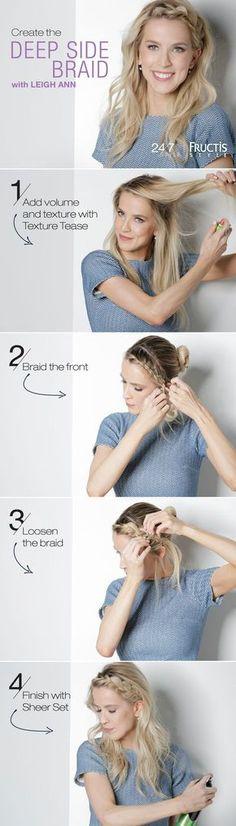 Deep Side Braid