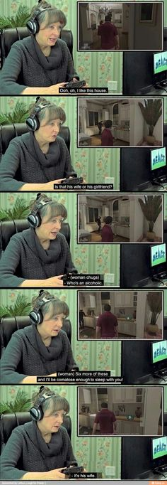 Funny pictures about Old People Playing GTA V. Oh, and cool pics about Old People Playing GTA V. Also, Old People Playing GTA V photos. 9gag Funny, Funny Shit, Funny Posts, Funny Cute, The Funny, Hilarious, Funny Stuff, Gta 5 Funny, Funny Things