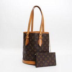 Louis Vuitton Bucket PM Monogram Shoulder bags Brown Canvas M42238