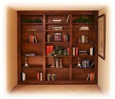 Den Built In Idea Stone Creek, Built In Furniture, Quality Furniture, Wall Spaces, Your Design, Shelves, Bookcases, Building, Den