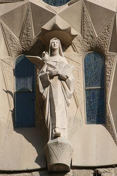 Santa Teresa, en la Sagrada Familia