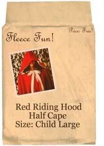 http://www.fleecefun.com/red-riding-hood-cape-pattern.html