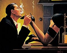 Jack Vettriano Fetish ii oil painting for sale; Select your favorite Jack Vettriano Fetish ii painting on canvas and frame at discount price. Jack Vettriano, Arte Do Pulp Fiction, Serpieri, Pulp Art, Pin Up Art, Boris Vallejo, Robert Mcginnis, Erotic Art, Art Girl