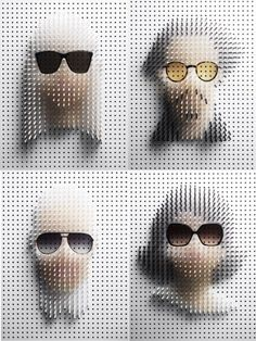 Pin Art por Philip Karlberg