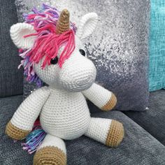 Jazzy The Unicorn Amigurumi Pattern