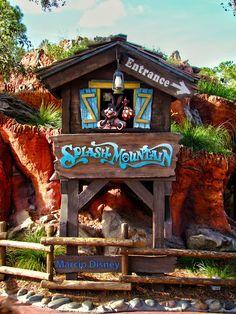 Splash Mountain is my most favorite ride at Disneyland and Disney world!!:)