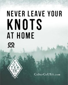Knowledge is your most powerful asset! Don't leave home without it.   http://www.coltercousa.com/