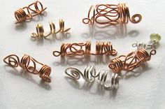 Easy-to-make dread jewelry.
