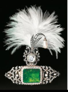 Turban ornament circa 1900 from the Al Thani collection