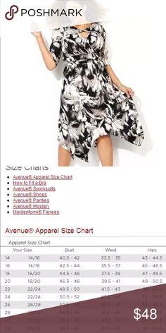 f4f1de3632f Avenue Sharkbite Matte Jersey Dress NWT 18 20 Beautiful easy to wear Matte  Jersey Dress