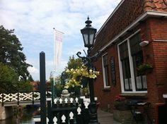 Schaatsmuseum en Hindelooper Schilderkunst in Hindeloopen, Fryslân