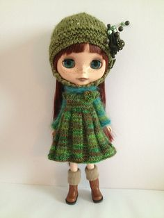 Ravelry: Cozy Comforts Set For Blythe and Middie Blythe pattern by Jane Pierrepont