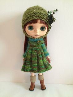 Ravelry: Cozy Comforts Set For Blythe and Middie Blythe pattern by Jane Pierrepont