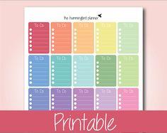 Set 01 sampler Pegatinas para imprimir por MyDecoratedBliss