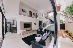 Narrow House Designs, Modern Small House Design, Small House Interior Design, Home Stairs Design, Home Building Design, Design Your Dream House, Minimalist House Design, Home Design Plans, Modern House Facades
