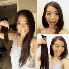 Asian Short Hair, Bob Haircuts, Cut Off, Short Hair Styles, Hair Cuts, Fashion, Bob Styles, Haircuts, Moda