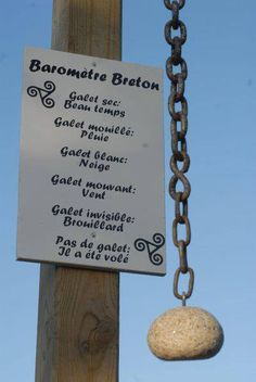 Galet breton. French humor :o)