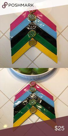 ec7600b769b22 BUNDLE of Lindsay Phillips Switch Flop Straps BUNDLE of 5 super fun  colorful Lindsay Phillips Switch