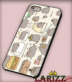 "Pusheen The Cat for iPhone 4/4s, iPhone 5/5S/5C/6/6 , Samsung S3/S4/S5 Case ""005"""