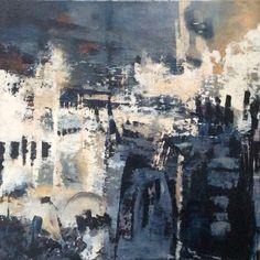 Abstraktes Gemälde Abstrakte kunst Abstrakte expressionismus  Gemälde in blau