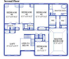 Maronda homes georgetown floor plan Home plan