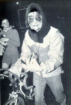 John Lennon , Halloween parade in Greenwich Village in 1980