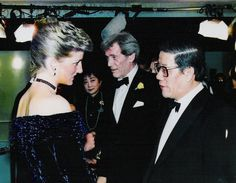 Diana at the premiere of The Last Emperor Feb 1988