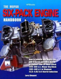 A step-by-step guide to rebuilding, restoring, and modifying the famous Mopar ?Six-Pack? engines that appeared in all of Chrysler?s muscle cars from 1969 through 1971, as well as the late- model small
