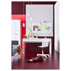 MICKE Bureau - blanc - IKEA