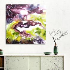 """Summer dream"" - acrylic on canvas, ready to hang! Cristina Dalla Valentina"