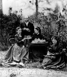 Victorian+Afternoon+Tea   middle-class family enjoy afternoon tea in the 1850s. Afternoon tea ...