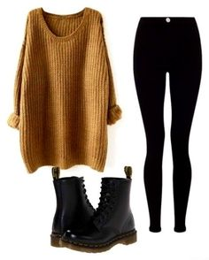 Winter Outfits Winter Fashion Winter Coats Winter Boots Get the best new style trends winter clothes brand new shoes and boots new sweaters work dresses and winter clo. Winter Fashion Outfits, Fall Winter Outfits, Look Fashion, Autumn Fashion, Womens Fashion, Fashion Black, Junior Fashion Outfits, Hipster Fashion Winter, Hipster Outfits Winter