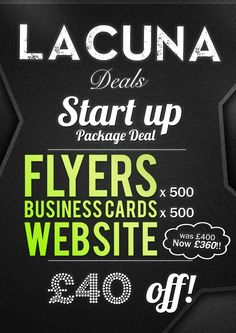 Business. Start up package