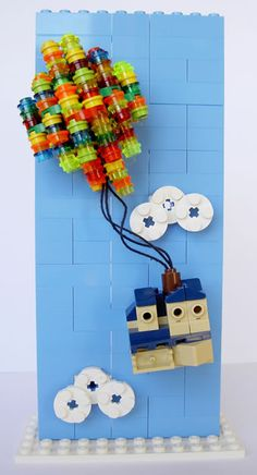 UP in Lego by Peter Aoun