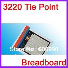 2pcs/lot 3220 Hole Point Solderless Breadboard Welding Free Circuit Test Board