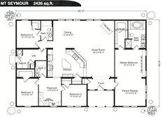 10+ Best Modern Farmhouse Floor Plans that Won People Choice Award  #FarmHouse #FloorPlans Tags: farmhouse sink, farmhouse table, farmhouse decor, farmhouse kitchen, farmhouse plans