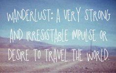 Wanderlusting heart