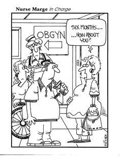 Nursing humor  OB nurses