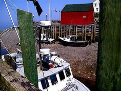 Hall's Harbour, Bay of Fundy, low tide