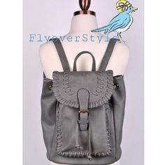 """Pre-Order! Boho Grey Backpack This item is available for preorder only at this time, please, comment if you'd like me to make you a reserved listing! Quantities are limited; get it while you can! L: 12"""", W: 6"""", H: 12"""" ChicBirdie Bags Backpacks"""