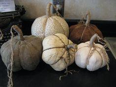 DIY DETAILED TUTORIAL......Fabric Pumpkin Tutorial